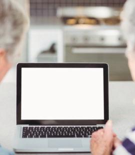 Seniors on the internet
