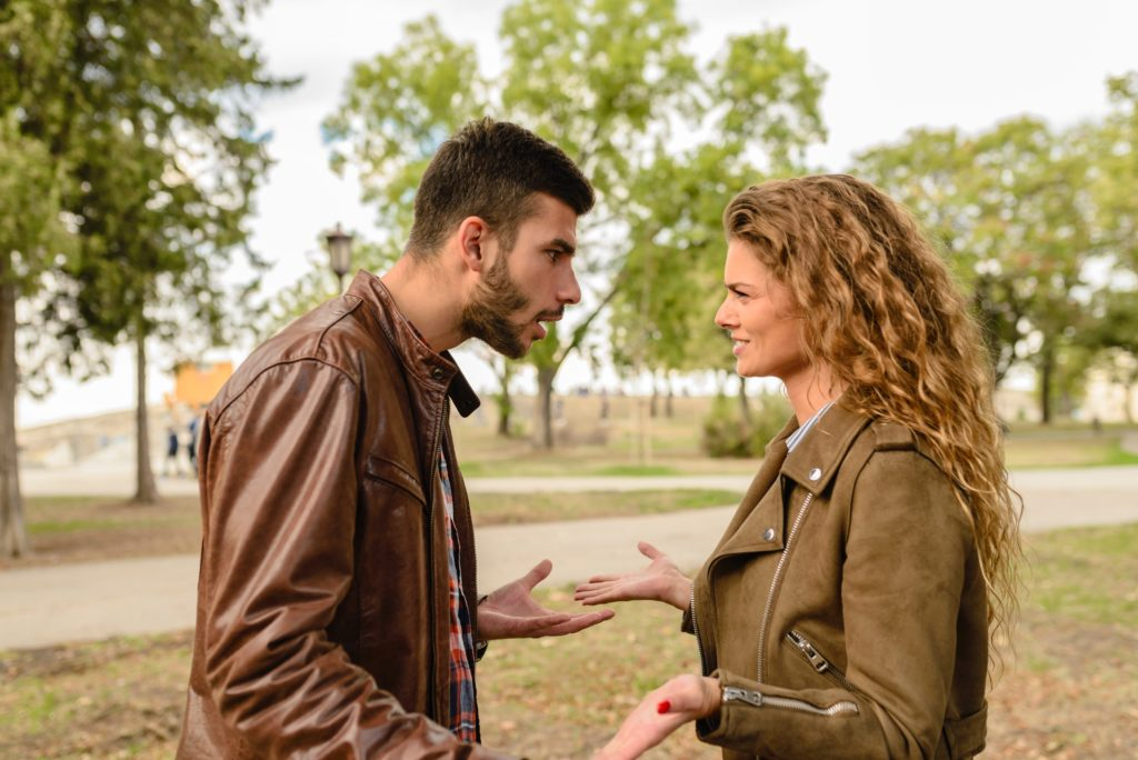 man and woman arguing, How to Defuse Common Probate Flashpoints
